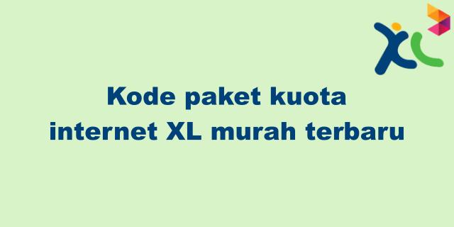 kode paket internet murah xl